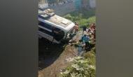 Gujarat: Bus falls into canal near Rajkot, 2 Injured