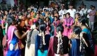 AP: With Dussehra 'Bathukamma' celebrations also conclude in Krishna district