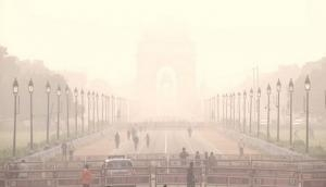 Thick blanket of fog envelops parts of Delhi