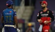 IPL 2020: जब मैदान पर एक दूसरे को घूरने लगे विराट कोहली और सूर्यकुमार यादव, देखें वीडियो