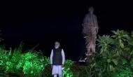 Gujarat: PM visits State of Unity, inaugurates Cactus Garden in Kevadia