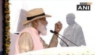 केवड़िया से सरदार पटेल को PM मोदी की श्रद्धांजलि, कहा- कुछ लोग पुलवामा हमले में राजनीतिक स्वार्थ देख रहे थे