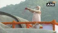 PM Modi pays tribute to Sardar Vallabhbhai Patel on his birth anniversary at Statue of Unity