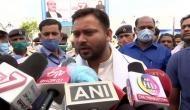 Nitish Kumar's credibility is completely destroyed, says Tejashwi Yadav