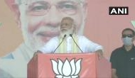Democratic NDA fighting against 'parivar tantra gathbandhan': PM Modi