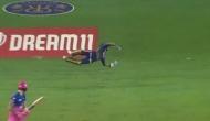 IPL 2020: दिनेश कार्तिक ने हवा में उछलते हुए पकड़ा अविश्वसनीय कैच, वीडियो देख दंग रह जाएंगे आप