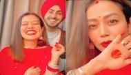 नेहा कक्कड़ ने पति रोहन संग यूं सेलिब्रेट किया करवा चौथ, शेयर किया वीडियो