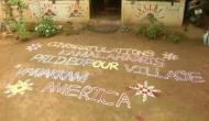 Kamala Harris' ancestral village in Tamil Nadu celebrates her victory with special rangoli
