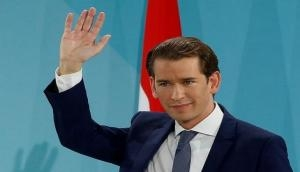 Austrian Chancellor, French President to hold online conference today