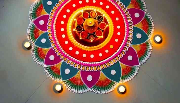 Rangoli Designs for Diwali 2020: Try these best rangoli ...  Diwali Rangoli Images Designs Diwali Rangoli