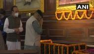 LS Speaker Om Birla pays tribute to Jawaharlal Nehru at Parliament