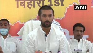 LJP chief Chirag Paswan congratulates Nitish Kumar on taking oath as Bihar CM again