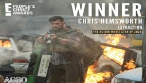Chris Hemsworth after winning Action Movie Star 2020 at PCA: I extracted the win right out