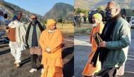 Trivendra Singh Rawat, Yogi Adityanath leave for Badrinath from Gauchar
