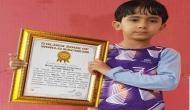 सात साल के बच्चे ने बनाया विश्व रिकॉर्ड, 1 मिनट में मारे 500 से ज्यादा पंच