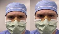 मास्क लगाने के दौरान चश्मे पर जम जाता था फोग, डॉक्टर ने अपनाई ये तरकीब