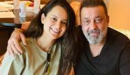 Kangana Ranaut meets Sanjay Dutt in Hyderabad: Prays for his good health