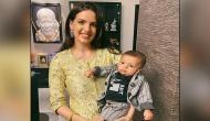 Hardik Pandya's wife Natasa Stankovic dances with son on Tiger Shroff and Hrithik Roshan's song
