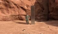 कुछ समय पहले रेगिस्तान के बीच में मिला था धातु का पिलर, अब अचानक हो गया गायब
