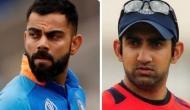 Gautam Gambhir criticises Kohli for 'T20' type of captaincy in 2nd ODI