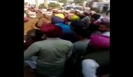 Ambala: Haryana farmers raise slogans, show black flags to Anil Vij