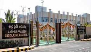 TDP MLAs walk out of Andhra Pradesh Assembly alleging they weren't given chance to speak