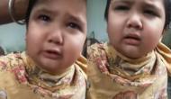 बाल काटने पर नाई पर भड़का छोटा सा बच्चा, वीडियो में देखें मासूम ने कैसे सुनाईं खरी-खोटी