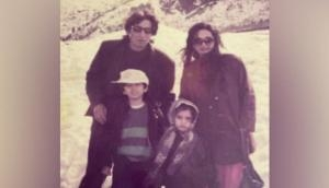 Shraddha Kapoor digs out old family picture on parents' anniversary