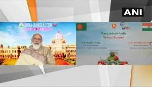 भारत-बांग्लादेश वर्चुअल समिट: पीएम मोदी और शेख हसीना ने किये 7 महत्वपूर्ण समझौतों पर हस्ताक्षर