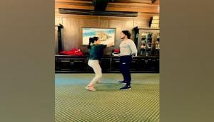 Kangana Ranaut engages in action rehearsal for 'Dhaakad'