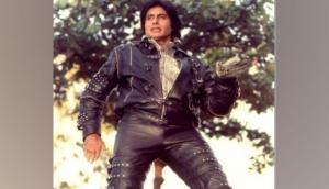 Amitabh Bachchan recalls pulling off desi 'MJ' in 'Ganga Jamuna Saraswathi'