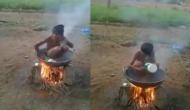 कड़ाके की ठंड में ऐसे करें पानी की बचत सर्दी भी रहेगी दूर, वीडियो में देखें बच्चे का अनोखा तरीका