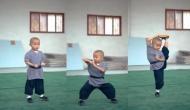 छोटे बच्चे ने ऐसे किया का कुंग फू देखने वाले रह गए दंग, वीडियो में देखें जबरदस्त मूव