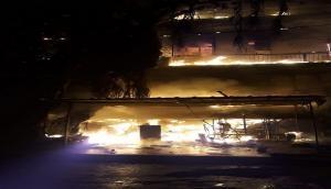 Delhi: Massive fire breaks out at Harley Davidson showroom in Moti Nagar
