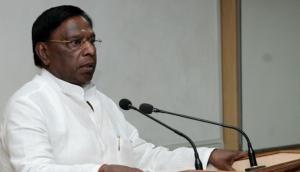 Puducherry CM submits memorandum to MoS Reddy requesting statehood, financial assistance