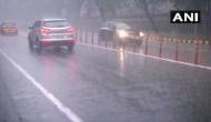 Rain, hailstorm affect traffic movement in Delhi