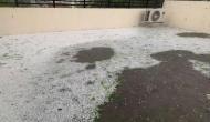 Heavy rain, hailstorm in parts of Delhi-NCR