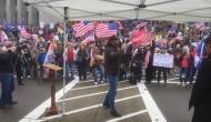 USPoll : अमेरिका में ट्रंप समर्थकों और पुलिस में हिंसक झड़पें, ट्विटर- फेसबुक ने ट्रंप को किया ब्लॉक