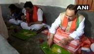 बंगाल दौरे पर BJP चीफ ने किसान के घर किया लंच, बोले- बंगाल में किसानोंं के साथ हो रहा अन्याय