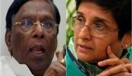 उप-राज्यपाल किरण बेदी के खिलाफ पुडुचेरी के CM ने की बगावत, 3 दिनों से राजभवन के बाहर दे रहे धरना
