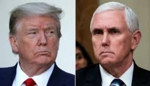 Donald Trump, Mike Pence meet for first time since Capitol riots