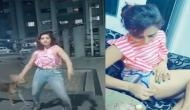 बीच सड़क पर डांस कर वीडियो बना रही थी लड़की, तभी कुत्ते ने आकर किया कुछ ऐसा, देख कर रह जाएंगे दंग