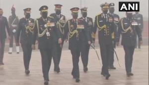 Army Day: CDS, Armed Forces chiefs pay tributes at National War Memorial