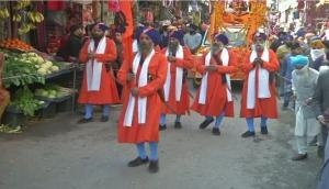 J-K: 'Nagar Kirtan' organised in Poonch for first time after COVID-19 outbreak