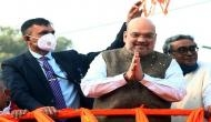 Amit Shah to hold 4 roadshows in West Bengal today