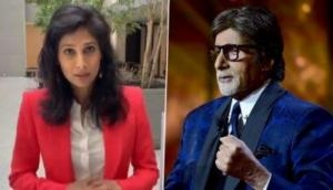 Gita Gopinath shares Amitabh Bachchan's video from KBC, Twitter users point to his sexist remark
