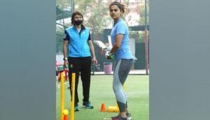 Taapsee Pannu starts training for Mithali Raj's biopic 'Shabaash Mithu'