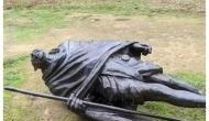 महात्मा गांधी की शहीदी दिवस के दिन अमेरिका में तोड़ी गई उनकी प्रतिमा, भारतीयों ने जताया रोष