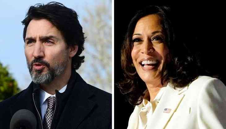 Kamala Harris recalls years spent in Montreal during call with Trudeau