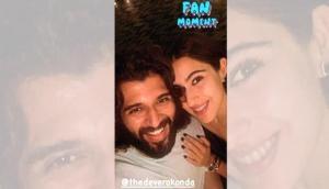 Sara Ali Khan's fan moment with Vijay Deverakonda